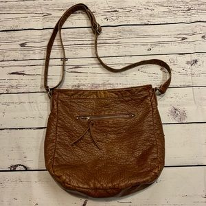 Aéropostale brown crossbody bag